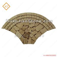 Shell Stone Tile Manufacturers by Travertine Mosaic Floor Tiles Supplier Huanjian Supply