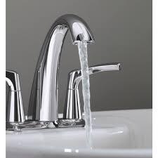 Kohler Bathroom Sink Faucets Centerset by Kohler Mistos 2 Lever Handle Centerset Bathroom Faucet With Pop Up