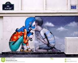 Famous Graffiti Mural Artists by Wall Mural Painting By Famous French Street Artist Seth