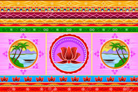 100 Truck Art Floral Kitsch Background In Indian Style Royalty Free