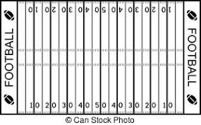 Football field clipart black and white clipartfest Cliparting