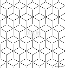 Vector Seamless Pattern Modern Stylish Texture Repeating Geometric Background Of Hexagonal Tiles Stock Image And Royalty Free Files On