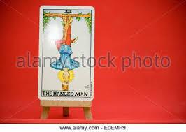 Universal Waite Tarot Deck Instructions by The Hanged Man Tarot Card From The Hanson Roberts Tarot Deck Stock
