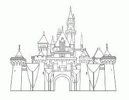 12 Pics Of Walt Disney Castle Coloring Pages