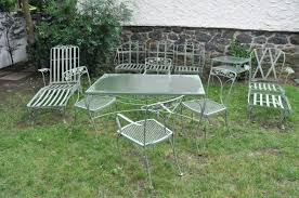 Vintage Metal Outdoor Furniture Old Fashioned Metal Patio Chairs