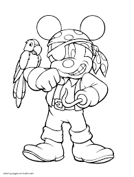Disney Halloween Printable Coloring Pages