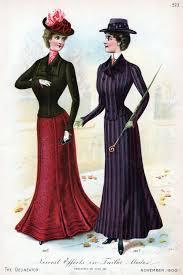 Kitten Vintage Ladies Fashion 1900