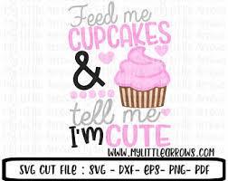 Funny Cupcake Svg