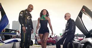 Miami 7th Floor Crew Mp3 by See Pitbull Flo Rida Race Sports Cars In U0027greenlight U0027 Video