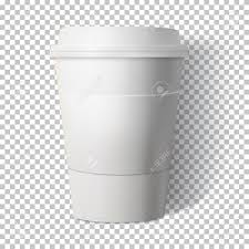 Illustration Of A Coffee Cup Isolated On Transparent Background Stock Vector