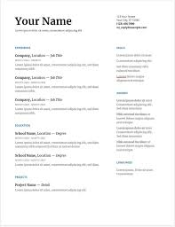 30 Google Docs Resume Templates [Downloadable PDFs] | Resume ... Unique Blank Simple Resume Template Ideas Free Printable Free Resume Mplates For High School Students Yupar Mplate Clipart Images Gallery One Column Cv Prokarman Outline Souvirsenfancexyz 25 Templates Open Office Libreoffice And Director Examples New Fuel Sme Twocolumn Resumgocom 68 Easy Cv Jribescom And Ankit 45 Modern Minimalist 17 Simple Format Download Leterformat