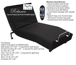 advanced sleep design rize relaxer adjustable bed base it s