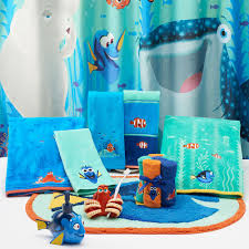 Disney Frozen Bathroom Sets by Disney Pixar Finding Dory Shower Curtain Collection By Jumping