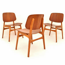 100 Birch Dining Chairs Model 155 Dining Chairs In Teak Birch By Brge Mogensen For Sborg