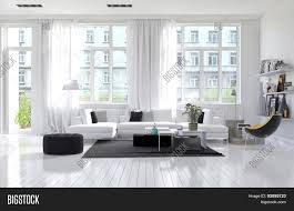 100 Modern White Interior Design Large Spacious Image Photo Free Trial Bigstock