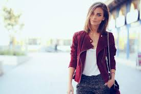 tall womens leather jacket