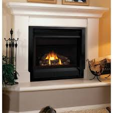 Giantex Electric Fireplace Insert With Heater Log Glass View Flame