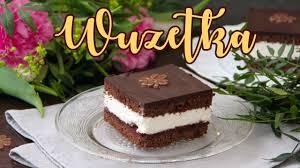 wuzetka rezept polnischer schoko blechkuchen mit sahne kirschen backen absolut lecker