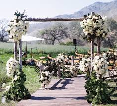 Rustic Outside Wedding Ideas Outdoor Inside Weddings Black And White Themed