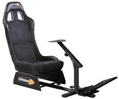 Playseat Elite Office Chair by Playseat Evolution Alcantara Racing Simulator Gaming Chair