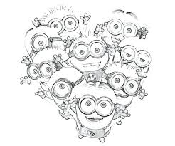 Full Image For Find This Pin And More On Groep 3 Kids Minions Despicable Me Coloring