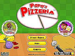 jeux de cuisine papa s papa s pizzeria un des jeux en ligne gratuit sur jeux jeu fr
