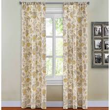 Boscovs Blackout Curtains by Flora Botanica Print Rod Pocket Pair Boscov U0027s