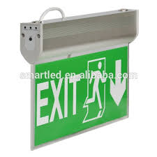 wall mounted exit security l china supplier ce rohs saa exit