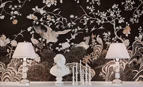 100 Coco Interior Design Coromandel In Original Design Colours On Custom Black Painted