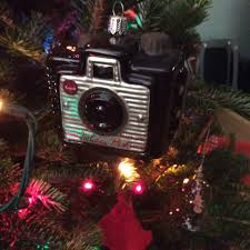 Thats As Rudimentary Any Box Camera The Holiday Flash Brownie Also Has A Glass Cousin Christmas Tree Ornament That I Bought About 5 Years Ago