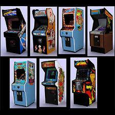 3D Asset Classic Arcade Games