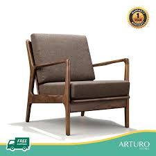 Arturo - Jacobe Lounge Chair/ Arm Chair/ Ottoman/ Mid-century Design/  Retro/ Solid Wood (FREE Shipping To West Malaysia) Contemporary Lounge Chair Leather Metal With Armrests Dc Lounge Chair Metal Arm Dark Grey Vinyl Upholstery Patio Festival Rocking Outdoor Gray Cushion 2pack Baker Living Room Riley Bkrba6584c Walter E Smithe Fniture Design Beige Nova Sled Black Armchair Bequest Accent Gold Martin Eisler Carlo Hauner 1950s And Rope Ottoman Pair Italian Mid Century Chairs With New Modern Newest Europe Sofa Single
