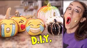 Emoji Pumpkin Carving Designs by Diy Cute Pumpkin Ideas Youtube