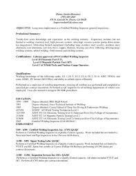 Resume Objective Examples Welder Lovely Welding Responsibilities