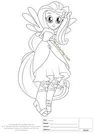 My Little Pony Coloring Pages Rainbow Dash Equestria Girls Free In 2132411