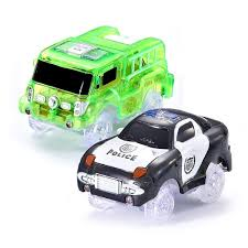 100 Black Fire Truck Codomoxo Light Cars For Magic Tracks Flexible And Bright Circuit
