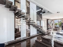 offene treppe aus marmor luxo by officine sandrini