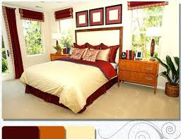 Fascinating Red And Brown Bedroom Decor Maroon With Pictures