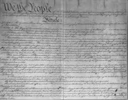 The USA Constitution 1786 1800 Documents American History