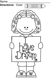 Martin Luther King Quotes Coloring Page