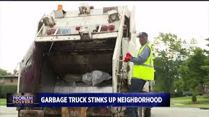 100 Trash Trucks In Action CBS4 Problem Solvers Truck Leaks Foulsmelling Liquid In