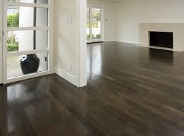 dark stained floors yellow pine stained dark hardwood floors