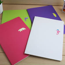 2017 Korea Candy Colored Animal Fun Large Notebook Notepad Book Fresh And Lovely Students Agenda Diary In Notebooks From Office School Supplies