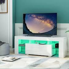 gotui unterschrank gotui tv board weiß tv schrank unterschrank fernsehtisch tv board wohnzimmer fernsehschrank weiß kaufen otto
