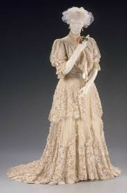 Afternoon Dress Identified As A Ball Gown By The MFA Boston Designed