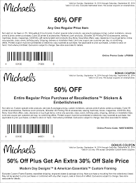 Michaels Coupon 50 Printable - Southwest Airlines Coupon ...