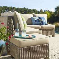 Lowes Canada Outdoor Dining Sets by Crafted With Hand Woven Polyethylene Outdoor Wicker This Patio