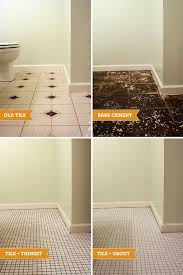 can you paint your bathroom floor tile thedancingparent