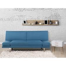 canapé york canapé convertible canapé lit en tissu bleu marine york