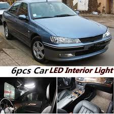 100 Led Interior Lights For Trucks Tcart 6pcs Error Free Car LED Kit Reading Dome Door